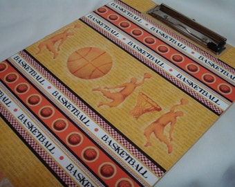 CLEARANCE Sale BASKETBALL CLIPBOARD