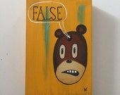 False - Original Art by Kevin Kosmicki