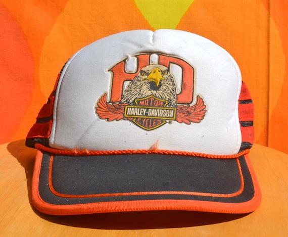 Vintage Harley Davidson Skull Baseball Cap Hat 50s 60s? | eBay  |Vintage Harley Davidson Hats