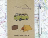 Travel notebook (100% recycled) A6