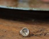 Mandrake Pinky Ring | Bronze