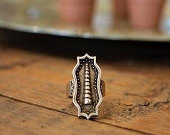 Horn of Unicorn Ring | Bronze