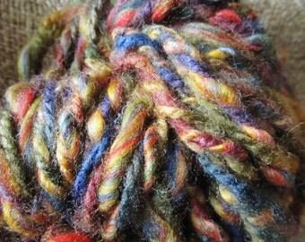 Autumn Hand Spun Soft, Chunky Wool Blend 3 Ply Yarn, 2 Oz. 39 Yards