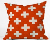 Vermillion Plus Pillow