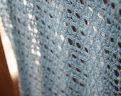 Diamon Lace Shawl -Tunisian Crochet Pattern