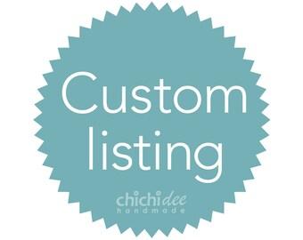 Custom Lisiting for Sheon Morrison