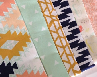 Boho Fabric, Cotton Fabric, Arizona fabric by the Yard by April Rhodes for Art Gallery Fabrics- Fabric Bundle of 6,  Free Shipping Available