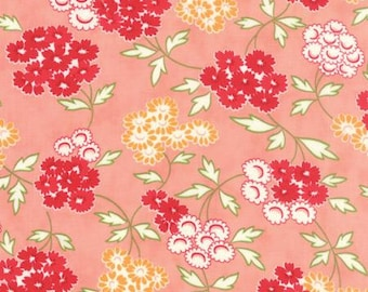 Hello Darling fabric by Bonnie and Camille for Moda and Fabric Shoppe - Hello Darling Picnic in Pink