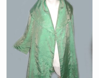 Vintage 1950's Iridescent Green Clutch Swing Jacket