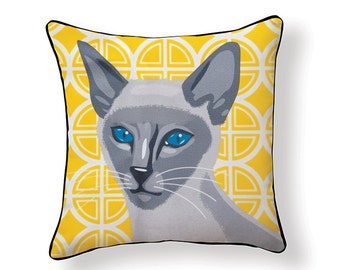 Siamese Cat Pillow
