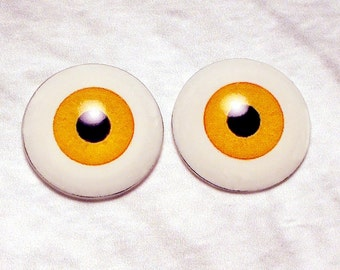 Doll eyes 6mm AD color Curry