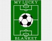 INSTANT DOWNLOAD Chella Crochet My Lucky Soccer Blanket Afghan Crochet Pattern Graph