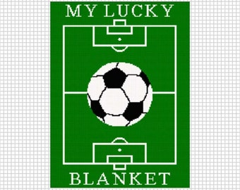 Unique Soccer Blanket Related Items Etsy