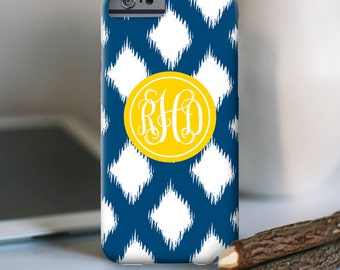 iPhone 7 Personalized Case  - Ikat Pop  - other models available