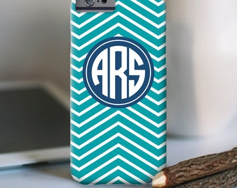 iPhone 7 Personalized Case  - Skinny Chevron  - other models available