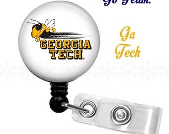 ID reel with MYLAR covering...Georgia Tech