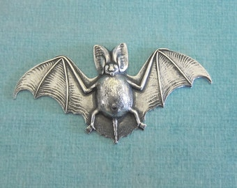 NEW Large Silver Bat Finding 3703