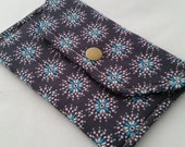 1/2 OFF Atomic Star Burst Fabric Wallet Snap Case
