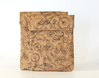 Bicycles All Around Town iPad & Tablet Paper Sleeve