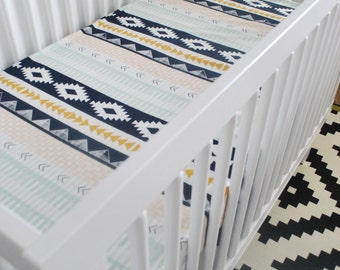 Arizona Tribal Fitted Crib Sheet