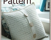 Cottage Chic Pillow Cover - Crochet Pattern - (PDF) INSTANT DOWNLOAD