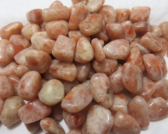 2 SunStone Healing Stone Healing Crystals Reiki Energy Chakra Meditation Self Worth and Confidence lot a