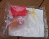MINT McDonalds Animal Muppet Babies figure with red wagon 1986