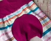 Maxaloones, Floral Aztec stripe cloth diaper pants, knit pants