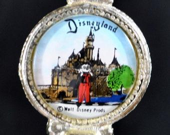 Vintage Early Disneyland Souvenir Key Foil Painting Mickey Mouse