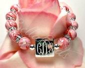 Memorial Beads Flower Petal Jewelry, Memorial Jewelry, Funeral Flower Jewelry, Memorial Gift Idea, Katherine Bracelet
