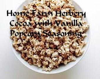 Popcorn Seasoning Cocoa with Vanilla, Delicious, Healthy, Order now