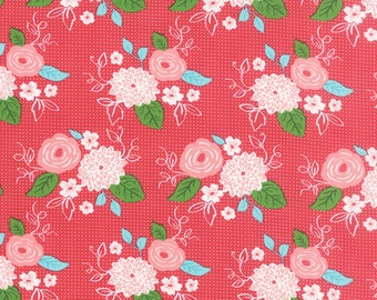Gooseberry (5010 13) Bouquet Berry by Lella Boutique - cut options available