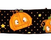 "Halloween Crazy Pumpkins 2"" Martingale Collar-"