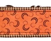 Fall Pumpkin and Plaid Martingale Collar-