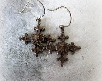 Praying Angel Earrings