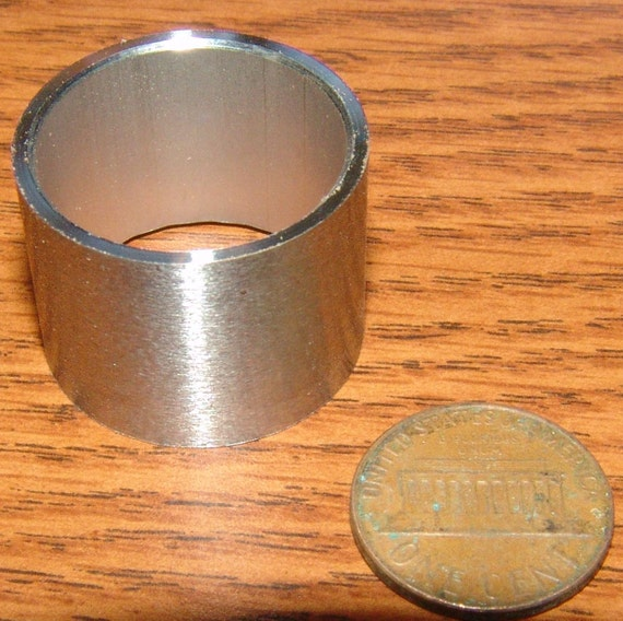 Stainless Steel Ferrules for Tool Handles 1 inch diameter by 3/4 inch long