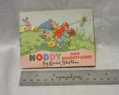 Vintage Copy of Noddy and Naughty Gobby by Enid Blyton