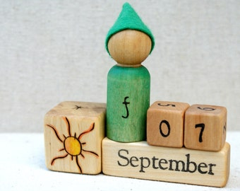 Perpetual Waldorf Calendar-Days of the Week