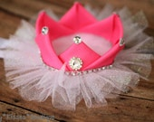 Ribbon Crown with your Choice in color