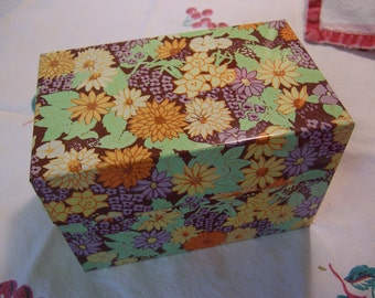 all flowers recipe file box