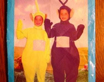 Butterick 5792 Pattern. Teletubbies Tinky Winky Dipsy. Pattern cut to Size XS (2). Toddler pattern. Toddler costume.