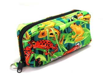 Essential Oil Case Holds 10 Bottles Essential Oil Bag Frogs in Trees