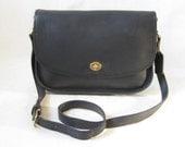 Vintage COACH  City Bag Cross Body Messenger Bag Purse