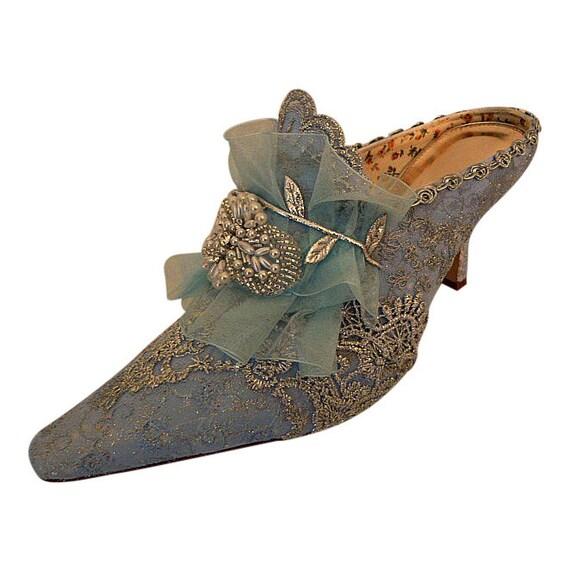 Something Blue Bridal Shoes Uk