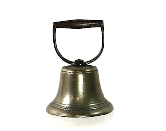 1850s Town Crier Bell | Antique Town Alert System | Historical Collectible