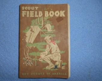 1950 Scout Field Book Boy Scouts of America