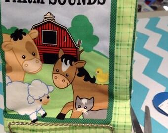John Deere Farm Sounds fabric book