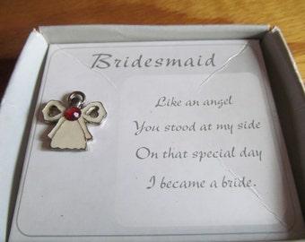 Bridesmaid Pushpin
