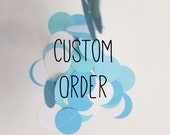 Custom Order for Jayme Wheeler
