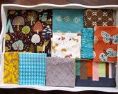 32x40 BOYS Fort Firefly Baby Blanket Made to Order